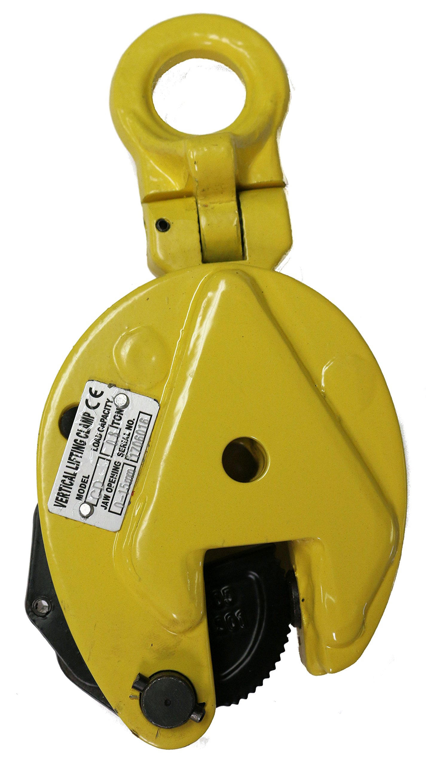 V-Lift Industrial Vertical Plate Lifting Clamp Steel 1,732 pounds WLL .8T