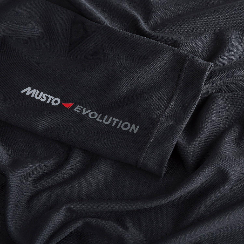 Musto Evolution Dynamic Camiseta de Manga Corta Camiseta Camiseta Top Negra - Manga Larga: Amazon.es: Deportes y aire libre