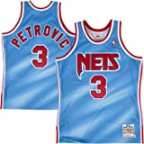 Mitchell & Ness Drazen Petrovic New Jersey Nets Authentic 1990-91 NBA Jersey