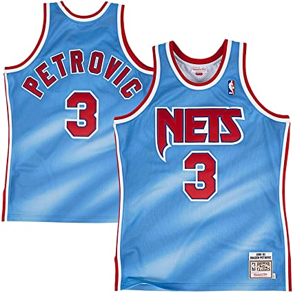 67733c9e16d Amazon.com   Mitchell   Ness Drazen Petrovic New Jersey Nets ...