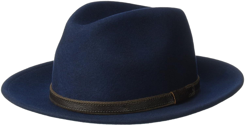 Country Gentleman Mens Hamilton Drop Brim Fedora Hat CG187