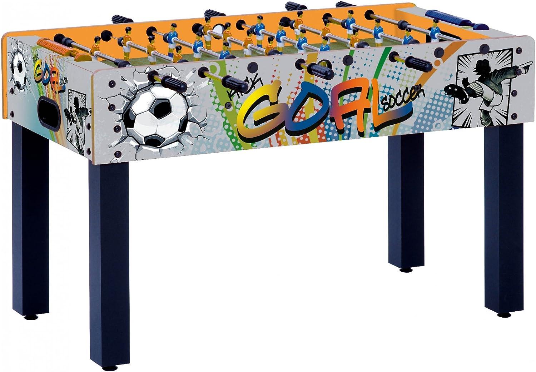 Garlando Futbolín F-1 Goal Telescópico Multicolor: Amazon.es: Juguetes y juegos