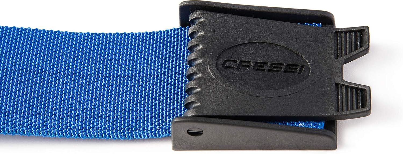 Blue TA627020 Cressi Nylon Weight Belt w//Plastic Buckle