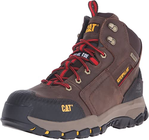 Choose SZ//Color Caterpillar Men/'s Navigator Mid Waterproof Work 6 in Soft Toe