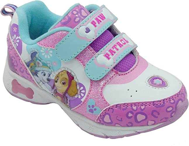 Paw Paw patrol Girls Light Up Shoes Size 12