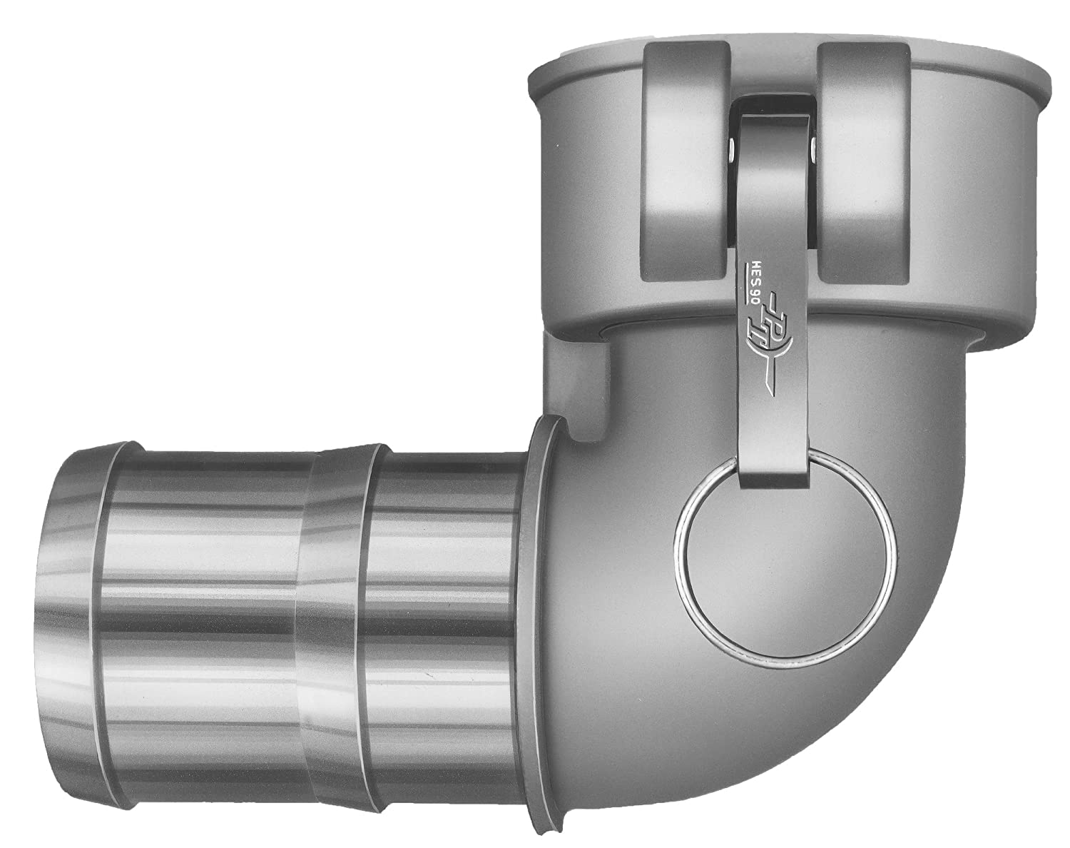 2 Coupler x Hose Shank Cam Arms 90 Degree Elbow HBS Stainless Steel 300 PT Coupling CL Series 20CL Aluminum Cam and Groove Hose Fitting