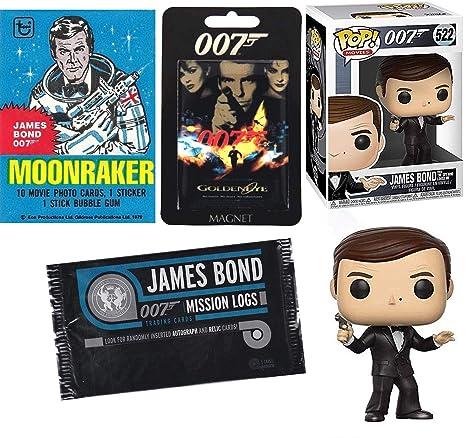 Amazon Com Secret Service James Bond Roger Moore Figure 007