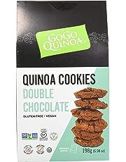 GoGo Quinoa Cookies Double Chocolate, 198 Grams