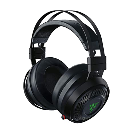 Razer Nari Ultimate - Auriculares Gaming inalámbricos con HyperSense, Color Negro