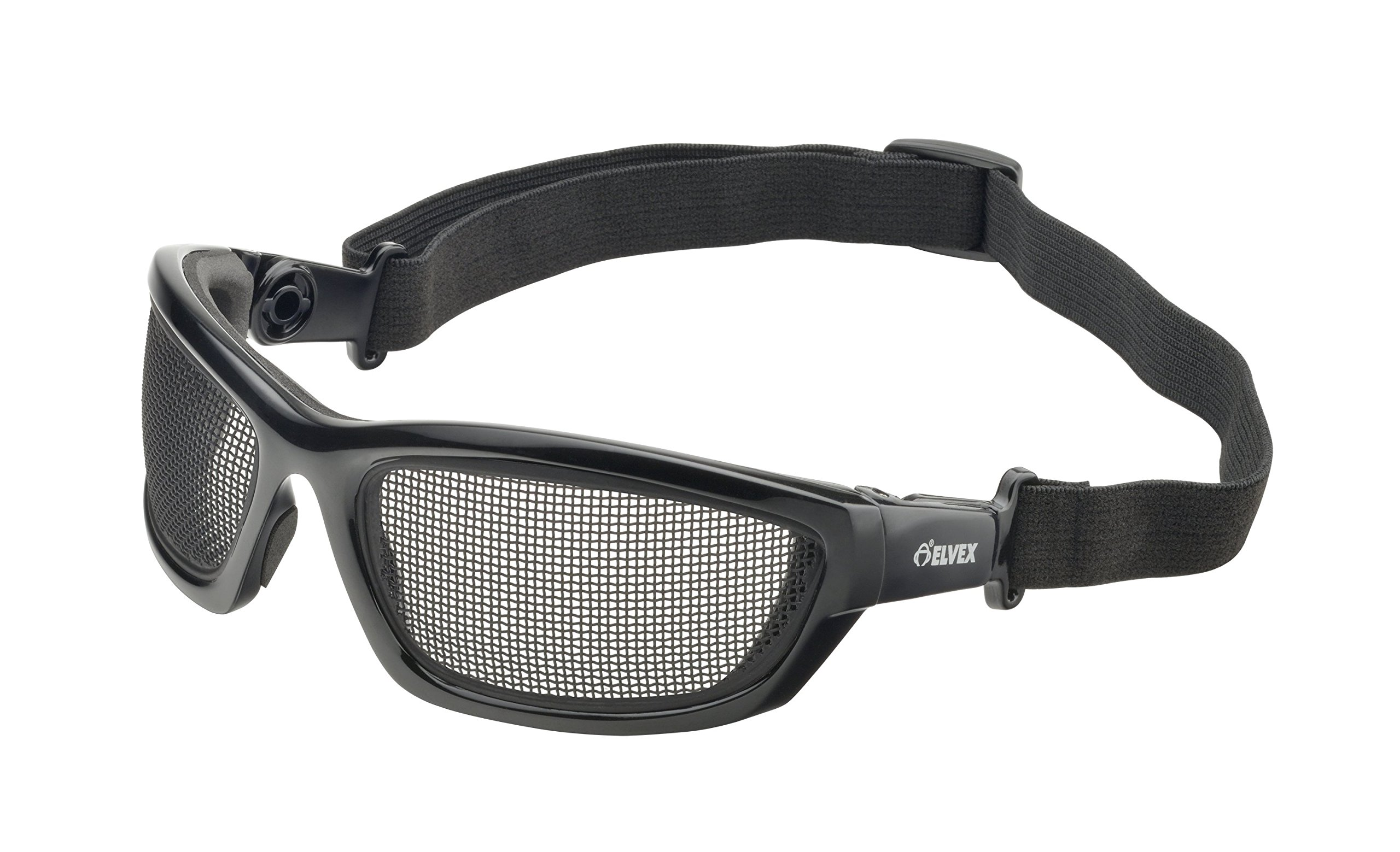 Elvex WELGG50 AirSpecs Steel Mesh Lens, Black by Elvex (Image #1)