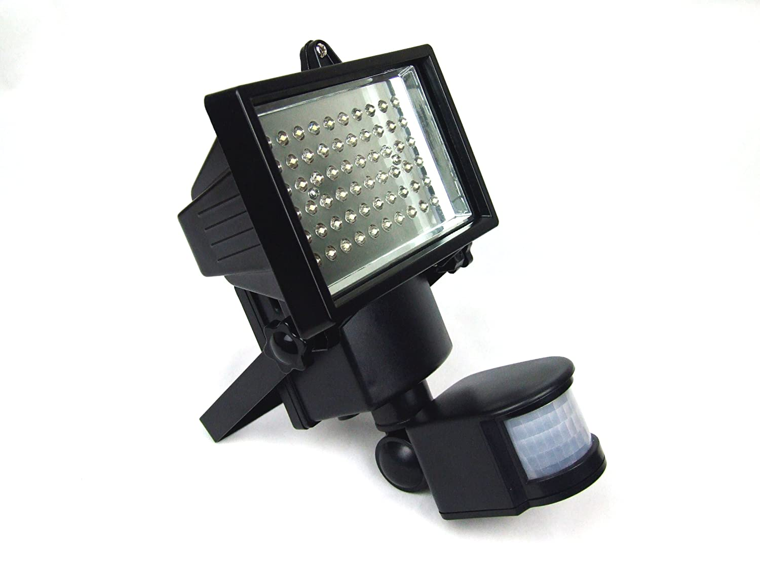 PestExpel 60 Super Bright LED Rechargeable Solar Power Motion Sensor  Security Light Outdoor Garden: Amazon.co.uk: Lighting