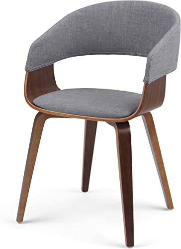 SIMPLIHOME Lowell Mid Century Modern Bentwood Dining Chair