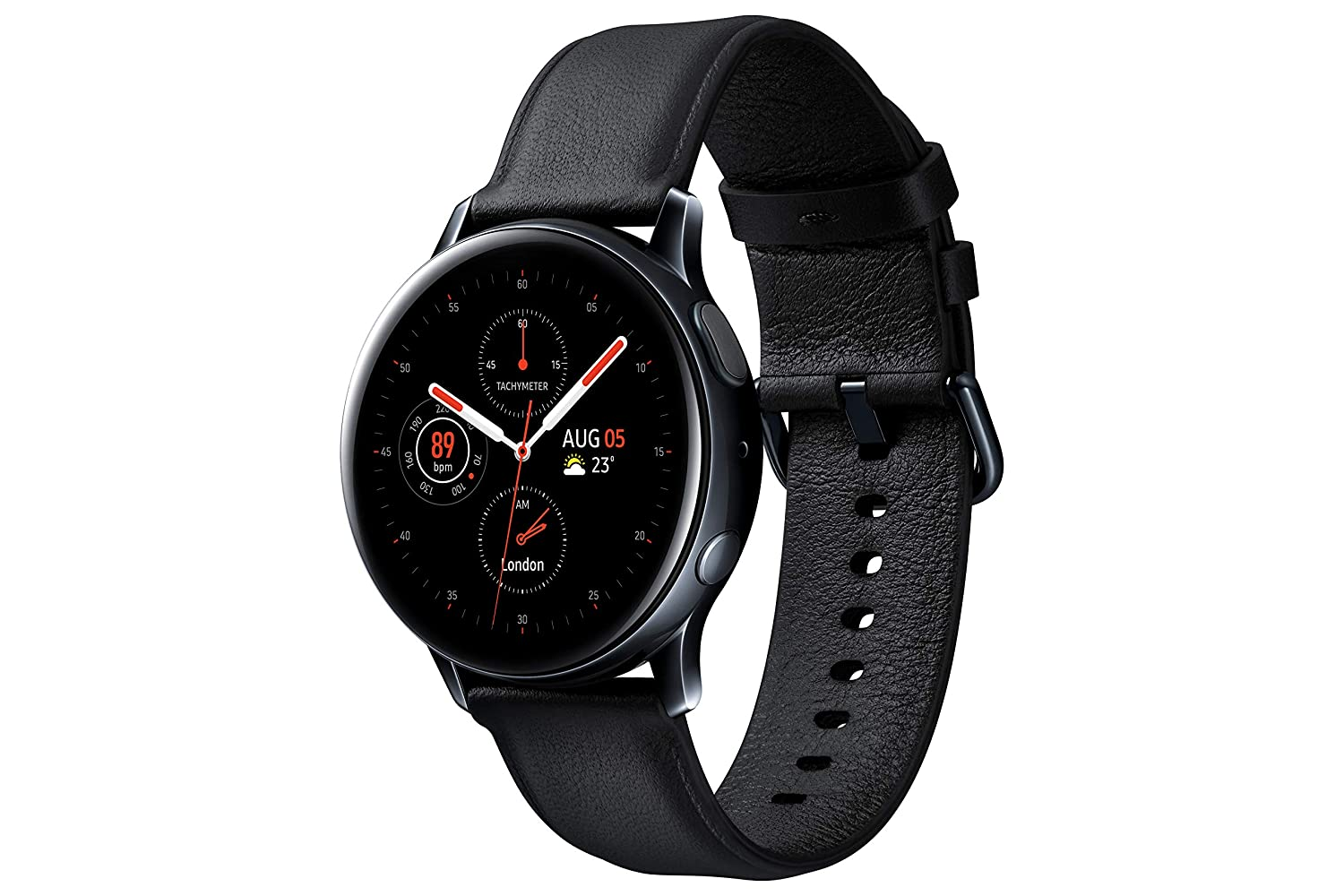 Samsung Galaxy Watch Active2 - Smartwatch, Bluetooth, Negro, 40 mm ...