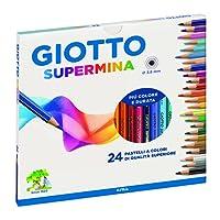 Giotto 235800 - Supermina Astuccio 24 Pastelli Colorati