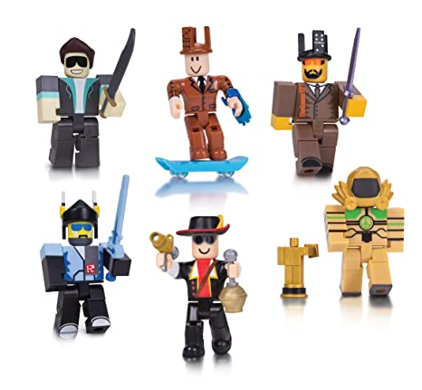 Amazoncom Roblox Legends Of Roblox Six Figure Pack Toys Games
