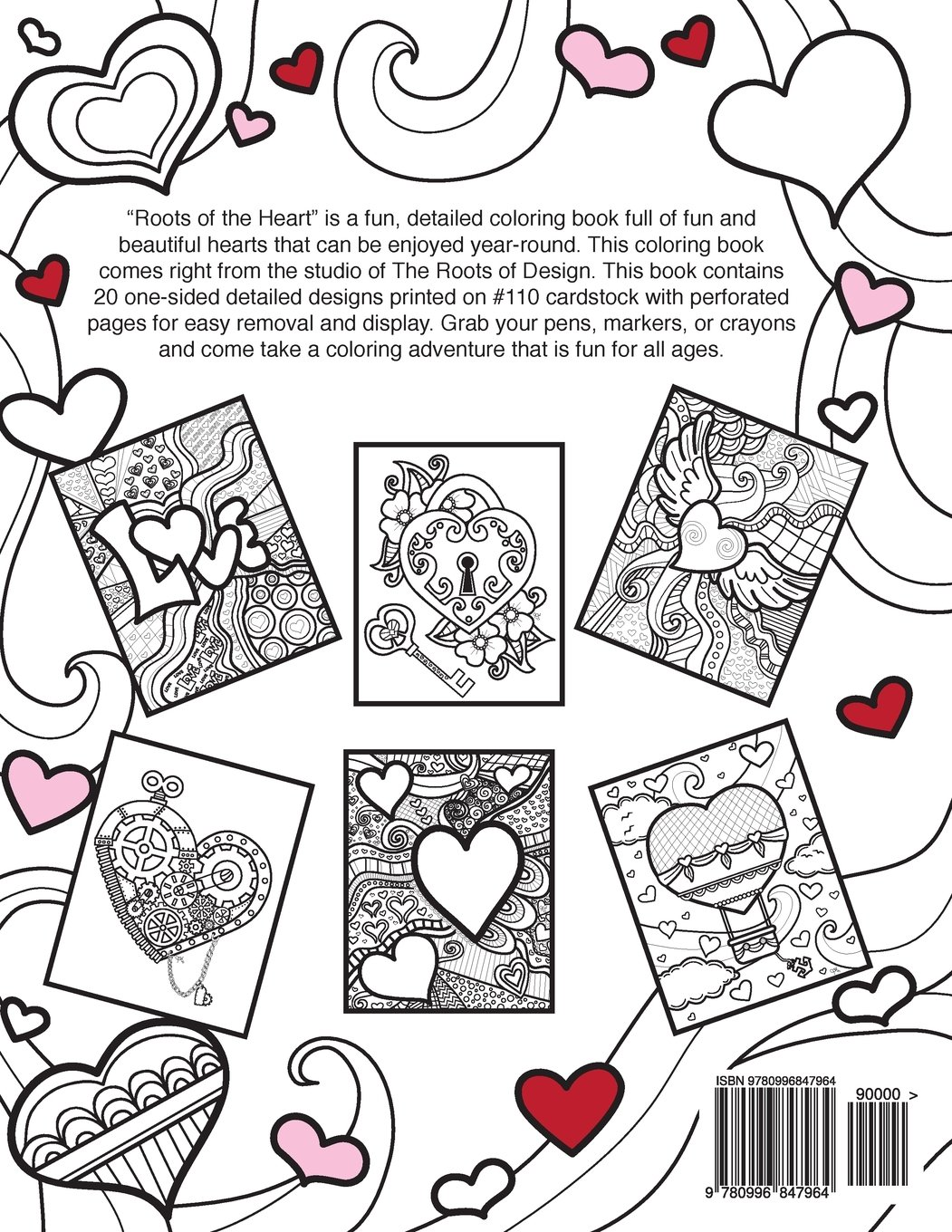 Roots of the Heart: A Coloring Book: Jeanette Wummel ...