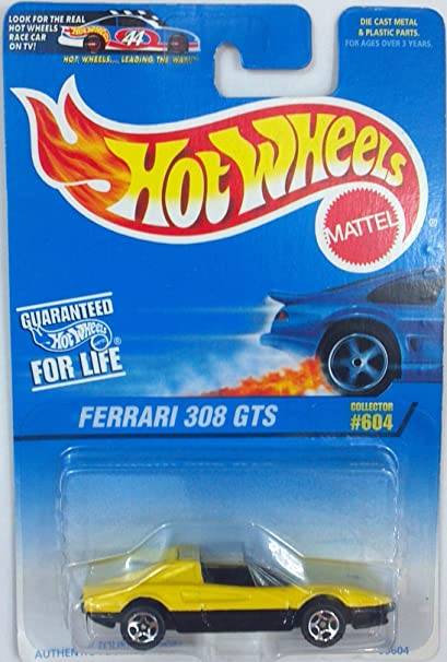 Buy Hot Wheels Ferrari 308 Gts 604 Year 1997 Online At Low Prices In India Amazon In