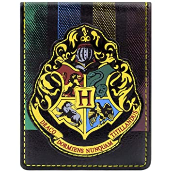Harry Potter Burgundy Hogwarts Crest Wallet