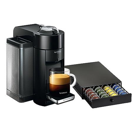 Amazon.com: Nespresso VertuoLine evoluo Deluxe Negro Piano y ...