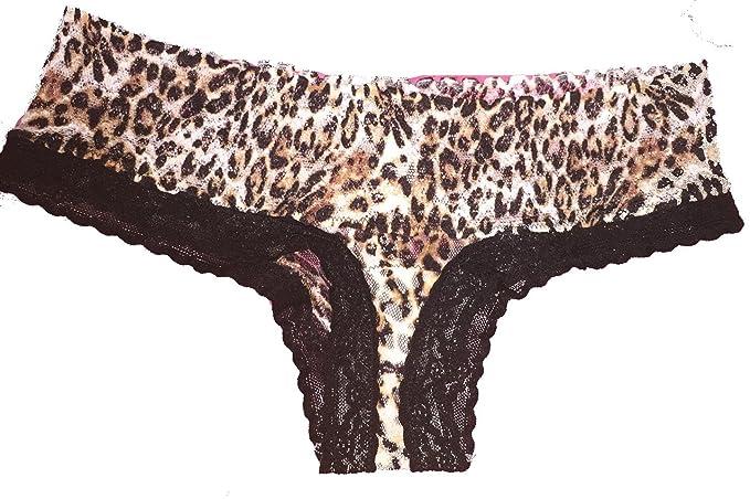 Victorias Secret - Bikini - para mujer multicolor leopardo