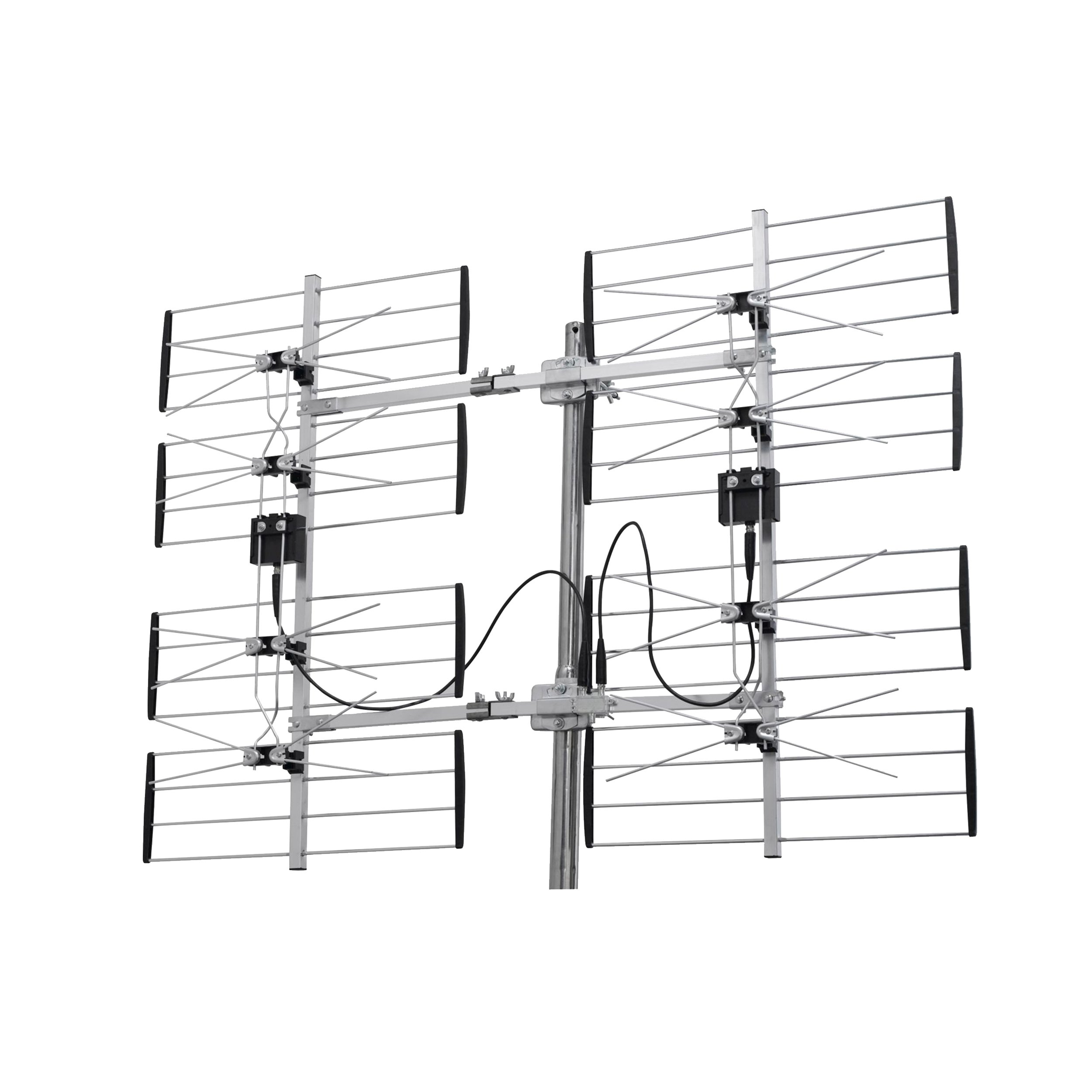 Homevision Technology ANT7285 Digiwave 8 Bay Ultra Clear Digital Outdoor TV Antenna, Silver