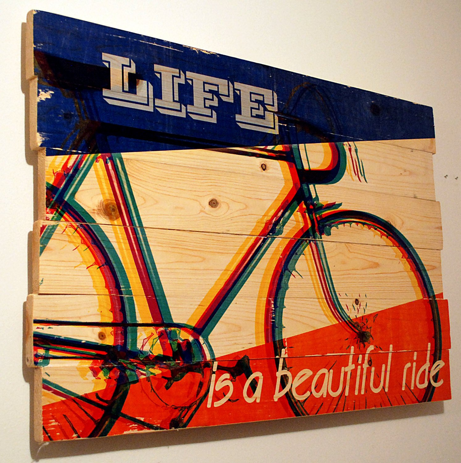 Generous Vintage Bicycle Wall Decor Photos - The Wall Art ...