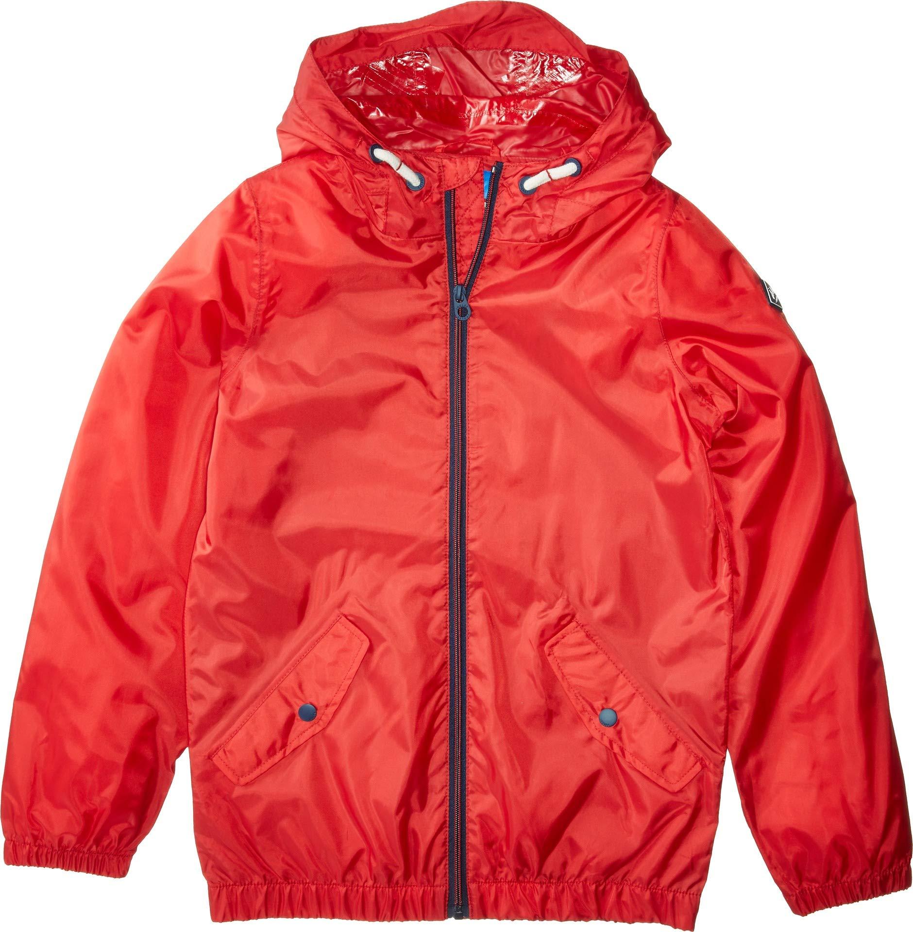 Joules Kids Baby Boy's Rowan Raincoat (Toddler/Little Kids/Big Kids) Red 5
