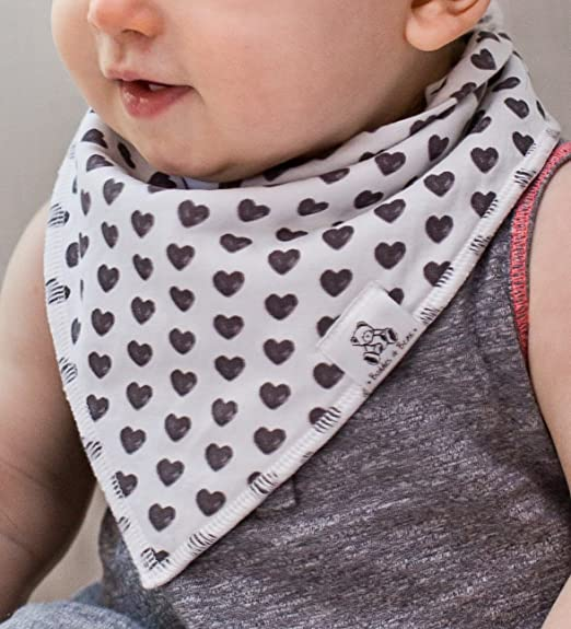 Amazon.com: Baby Bandana Drool babero 4 Piece Set, mejor ...