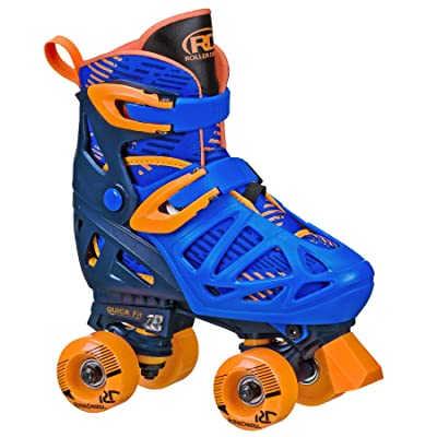 Roller Derby Boy's Trac Star Adjustable Roller Skate : Sports & Outdoors