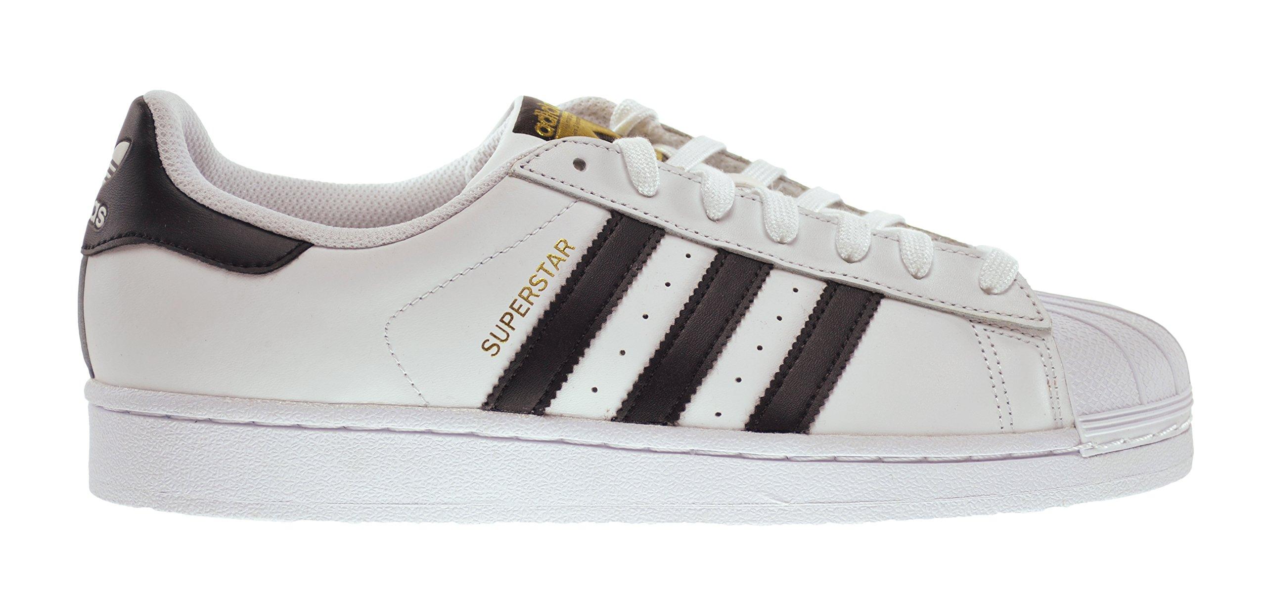 adidas Superstar Men's Shoes Running White FTW/Core Black c77124 (9.5 D(M) US)