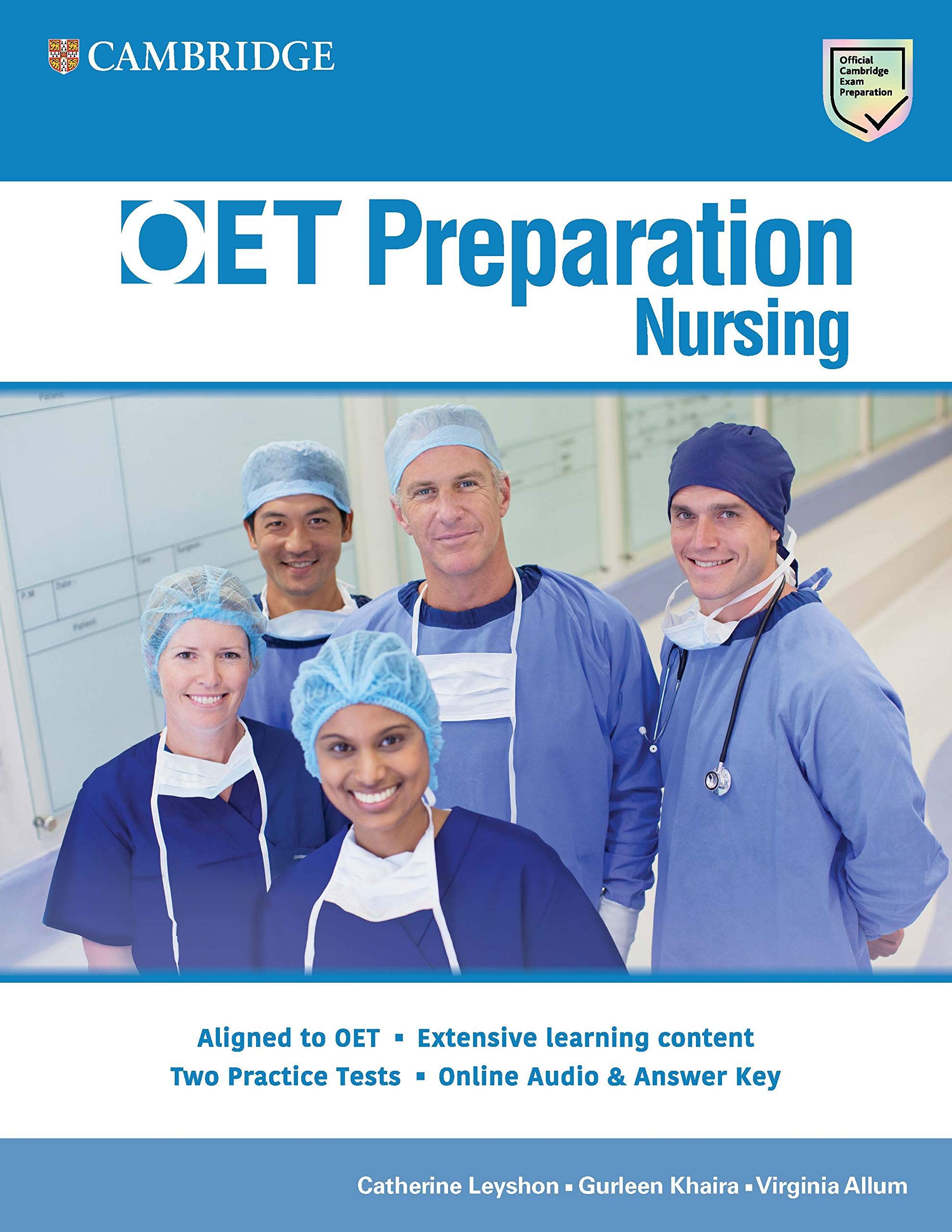 Buy OET Preparation Book Online at Low Prices in India | OET ...