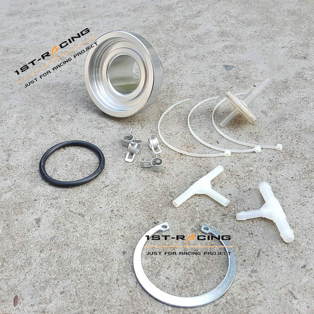 Filter Ispeedytech New BOV Flange Adapter Clamp For HKS SSQV SQV Adaptor Blow Off Valve
