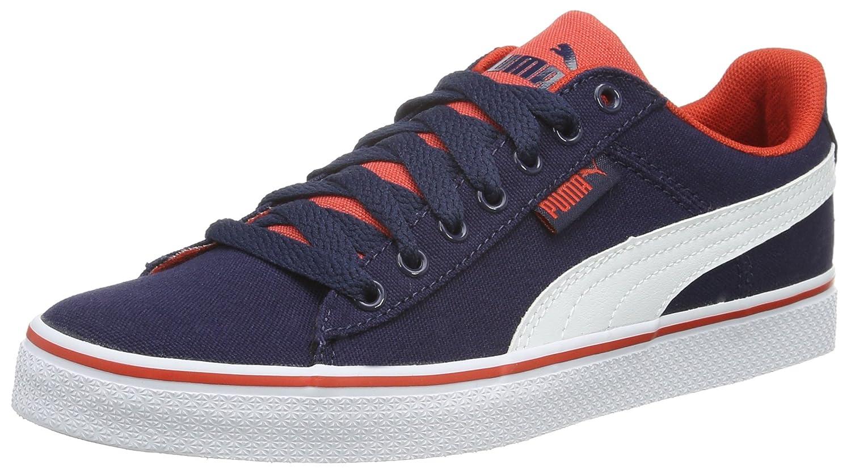 e9f616207c521a Puma Unisex Kids 1948 Vulc CV Jr Low-Top Sneakers Blue Size  4.5 UK ...