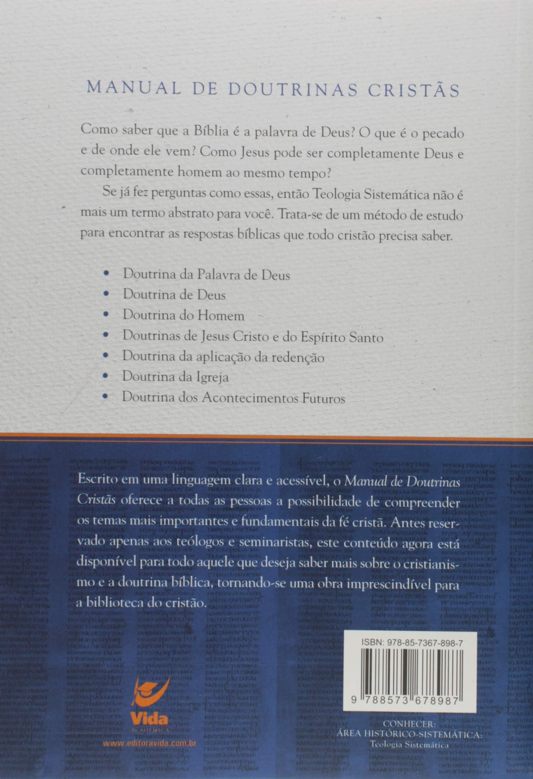 Manual de Doutrinas Cristãs: Jeff Purswell: 9788573678987: Amazon.com: Books