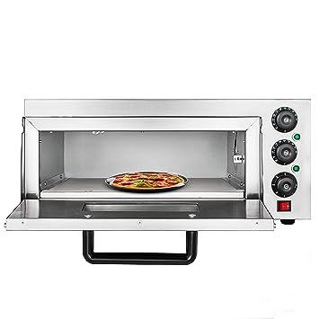 Moracle Horno de Pizza Eléctrico de 2KW Horno para Pizza con ...