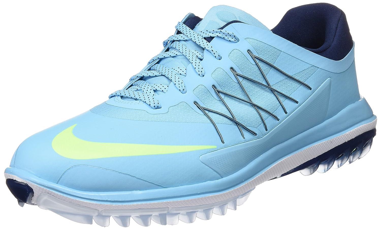 Nike Lunar Control Vapor Mens Golf Shoes 849971 Trainers Sneakers Vivid Sky Volt Navy 400 27.0 cm