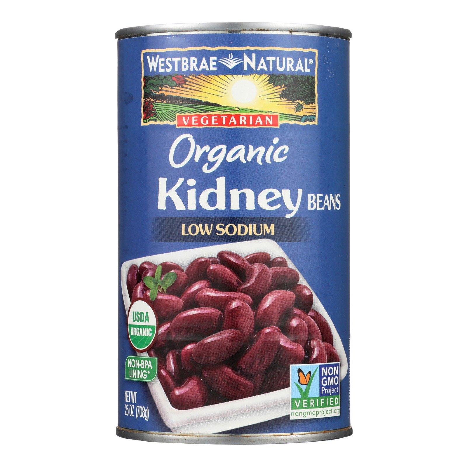 Westbrae Foods Organic Kidney Beans - Case of 12 - 25 oz. by Westbrae Natural