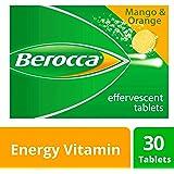 Berocca Energy Vitamin, Mango & Orange - 30 Effervescent Tablets