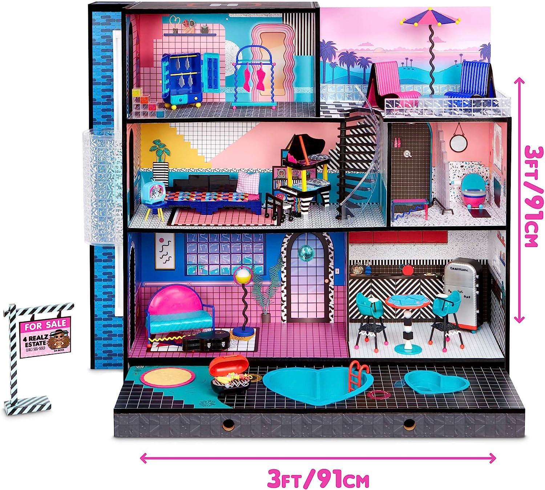 L.O.L Brand new LOL Surprise Surprise House with 85+ Surprises /& 85 Surprises