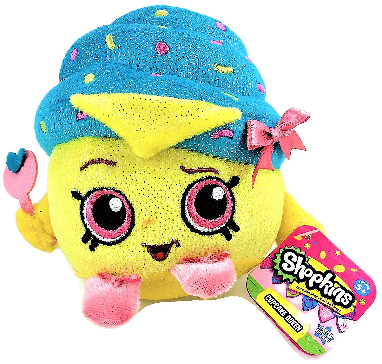 Amazon Shopkins Limited Edition Shimmery Cupcake Queen Bean