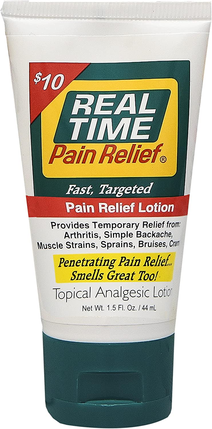 Real Time Pain Relief Pain Relief Cream (1.5oz. Tube)
