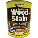 Everbuild WSTAINSNO07 Woodstain, Natural Oak, 750 ml