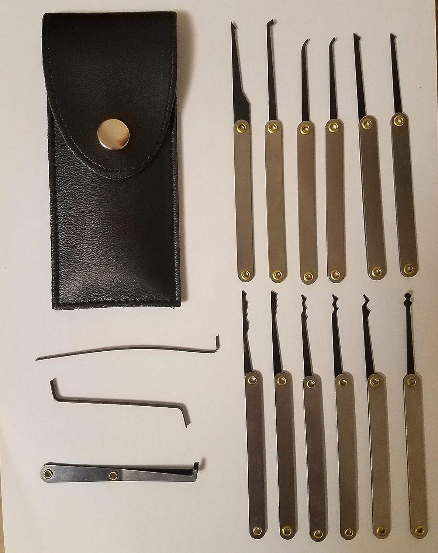 pick set with flashlight Professional practice tool lock set