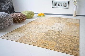 Vintage teppiche  Vintage Teppich Exquisit - Patchwork Teppich - natur, Größe ...