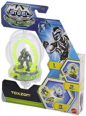 Max Steel - Figuras de acción, Toxzon (Mattel Y1391): Amazon.es: Juguetes y juegos