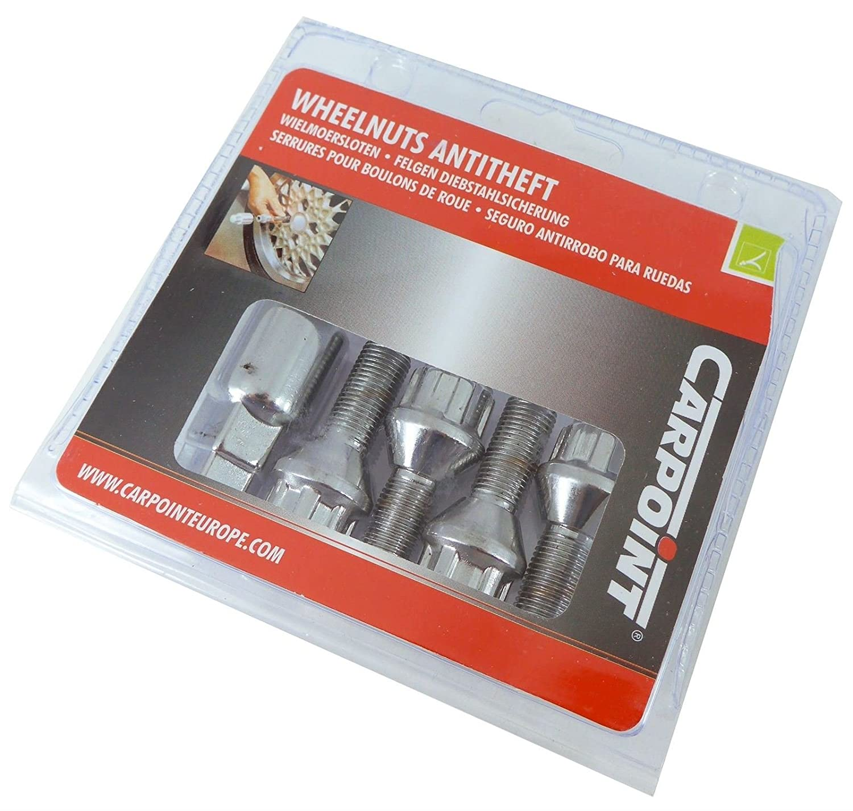 UKB4C Anti Theft Locking Wheel Nut Bolt Set 307 Sw 02-On Steel Wheels