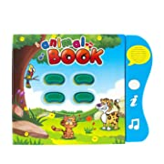 Animal Learning Sound Book by Boxiki Kids