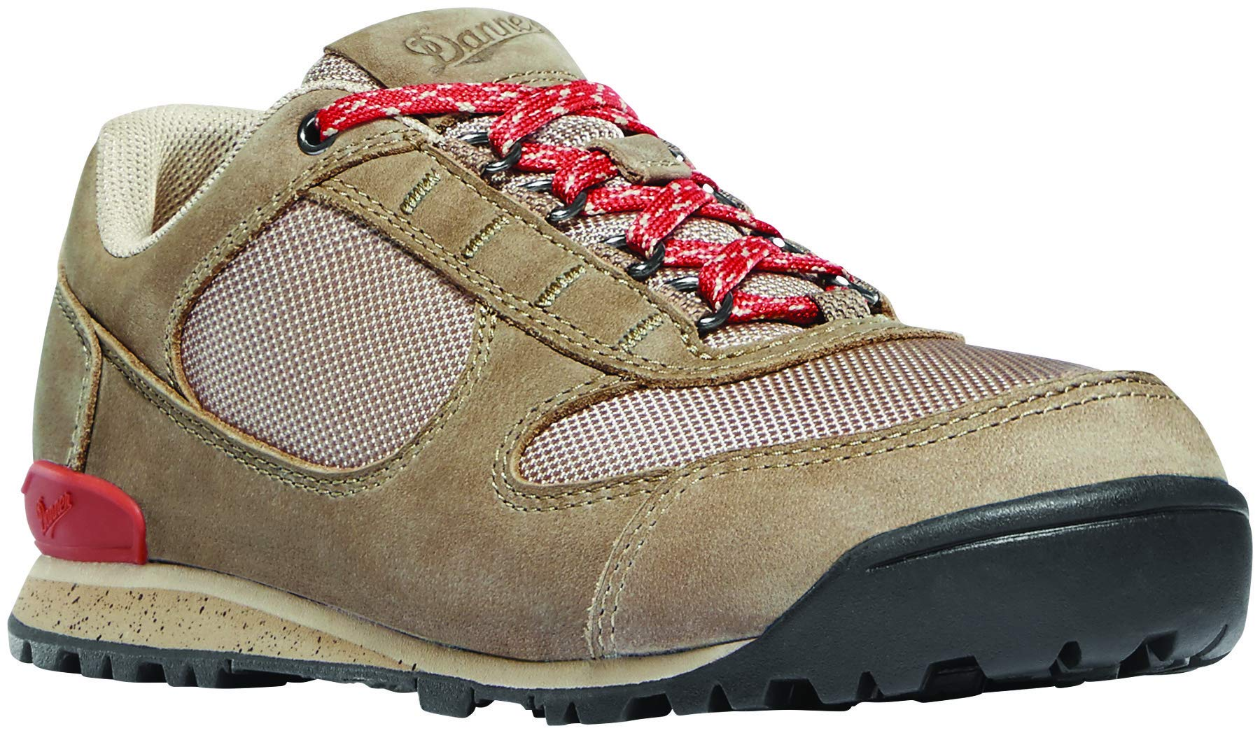 Danner Women's 37398 Jag Low 3'' Hiking Shoe, Timber Wolf/Hot Sauce - 5.5 M by Danner