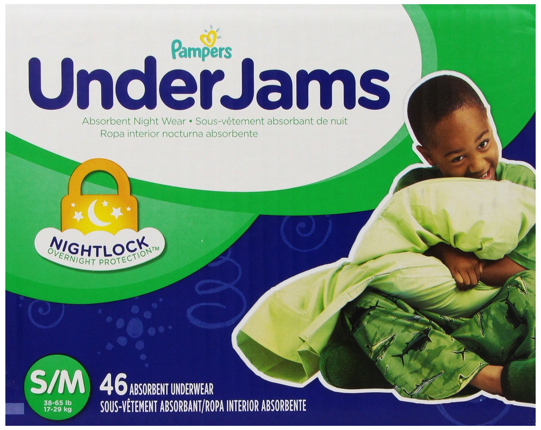 Pampers UnderJams Size 7, 46 Count product image