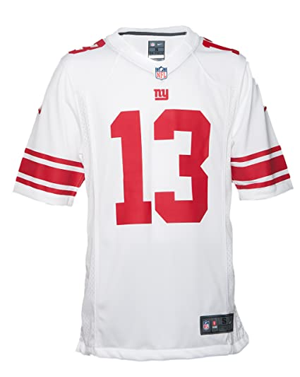 brand new 13ac2 554af Nike NFL Men's New York Gaints Odell Beckham Jr. Jersey - White